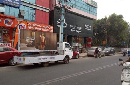 Mobile Van Campaign in Bangalore -FASO