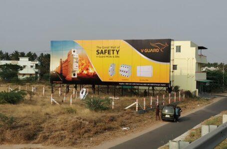 Hoarding in Coimbatore -V GUARD
